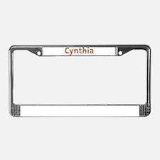 Cynthia Fiesta License Plate Frame