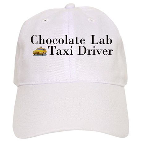 Chocolate Lab Taxi Cap