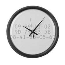 Unique Dvd Large Wall Clock