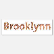 Brooklynn Fiesta Bumper Car Car Sticker
