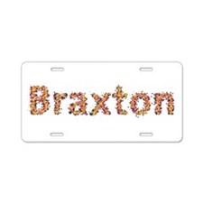 Braxton Fiesta Aluminum License Plate