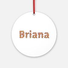 Briana Fiesta Round Ornament