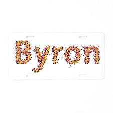 Byron Fiesta Aluminum License Plate