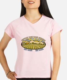 Support Your Local Farmers Performance Dry T-Shirt