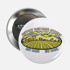 "Support Your Local Farmers 2.25"" Button"