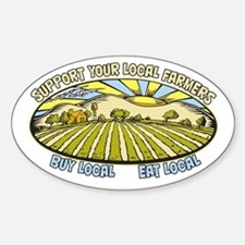 Support Your Local Farmers Decal