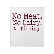 Vegan Pride Throw Blanket