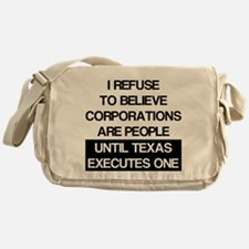 Corporations Are People Messenger Bag