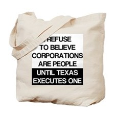 Corporations Are People Tote Bag