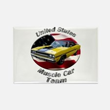 Plymouth GTX Rectangle Magnet (10 pack)