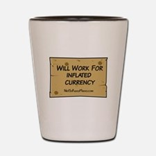 Will Work Inflation 2 Shot Glass