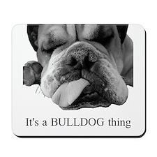 Bulldog Rescue Mousepad
