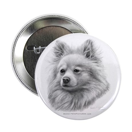 "Pomeranian 2.25"" Button (100 pack)"
