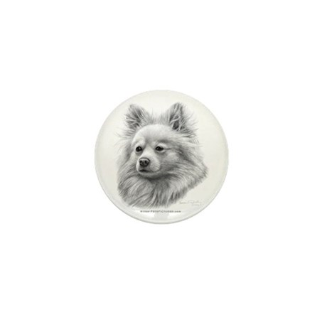 Pomeranian Mini Button