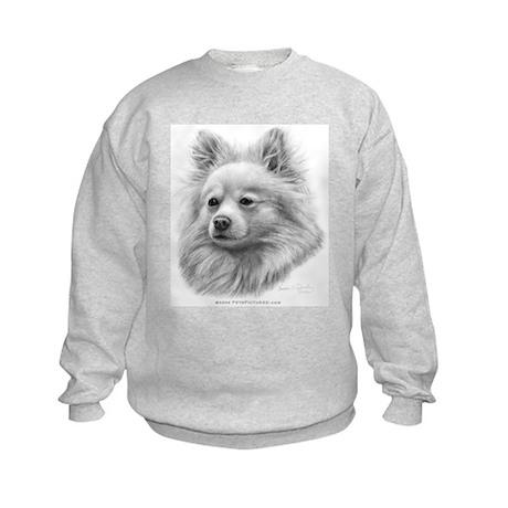 Pomeranian Kids Sweatshirt