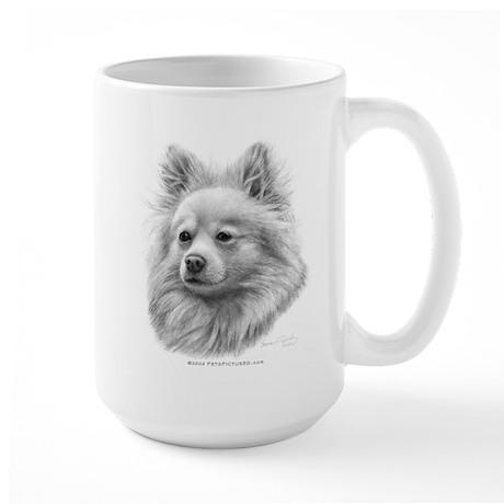 Pomeranian Large Mug