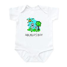 Abuelo's Boy Stick Figure Infant Bodysuit