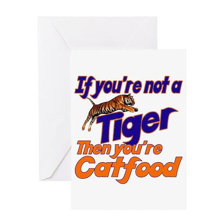 Tiger Bait Greeting Card