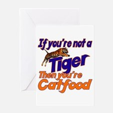 Tiger Bait Greeting Card