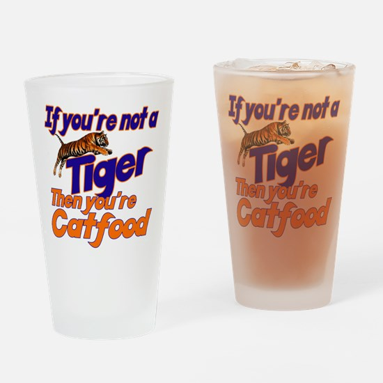 Tiger Bait Drinking Glass