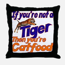 Tiger Bait Throw Pillow