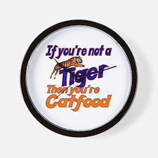 Tiger Bait Wall Clock