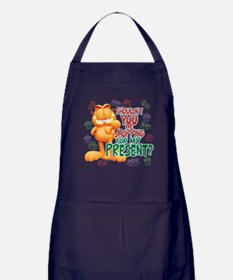 Shop For My Present? Apron (dark)