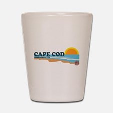 Cape May MA - Beach Design Shot Glass