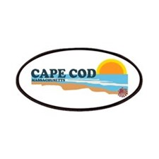 Cape May MA - Beach Design Patches