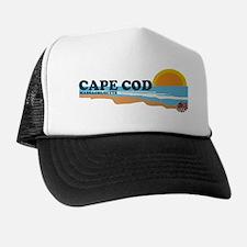 Cape May MA - Beach Design Trucker Hat
