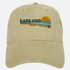 Baseball Baseball Cape May MA - Beach Design Baseball Baseball Cap