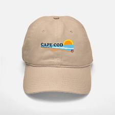 Cape May MA - Beach Design Baseball Baseball Cap