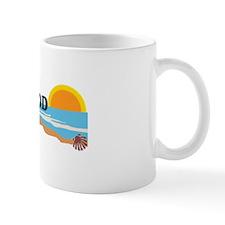 Cape May MA - Beach Design Mug