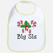 Big Sis Christmas Bib