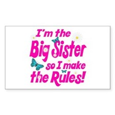 Big sister makes the rules Decal