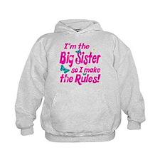 Big sister makes the rules Hoodie