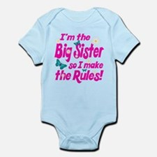 Big sister makes the rules Infant Bodysuit