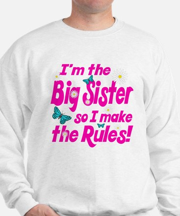Big sister makes the rules Sweater