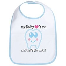 Daddy Hearts Me Bib