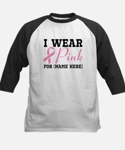 Personalize I Wear Pink Tee