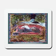 Sea Lion Caves TV Mousepad