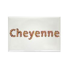 Cheyenne Fiesta Rectangle Magnet