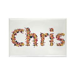 Chris Fiesta Rectangle Magnet