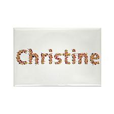 Christine Fiesta Rectangle Magnet