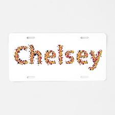 Chelsey Fiesta Aluminum License Plate