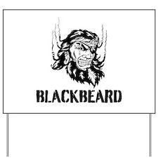 Blackbeard Yard Sign