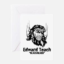 Edward Teach Greeting Card