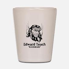Edward Teach Shot Glass
