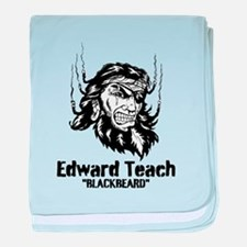 Edward Teach baby blanket