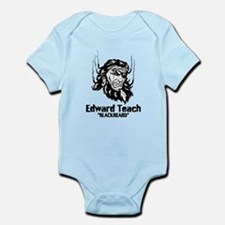 Edward Teach Infant Bodysuit